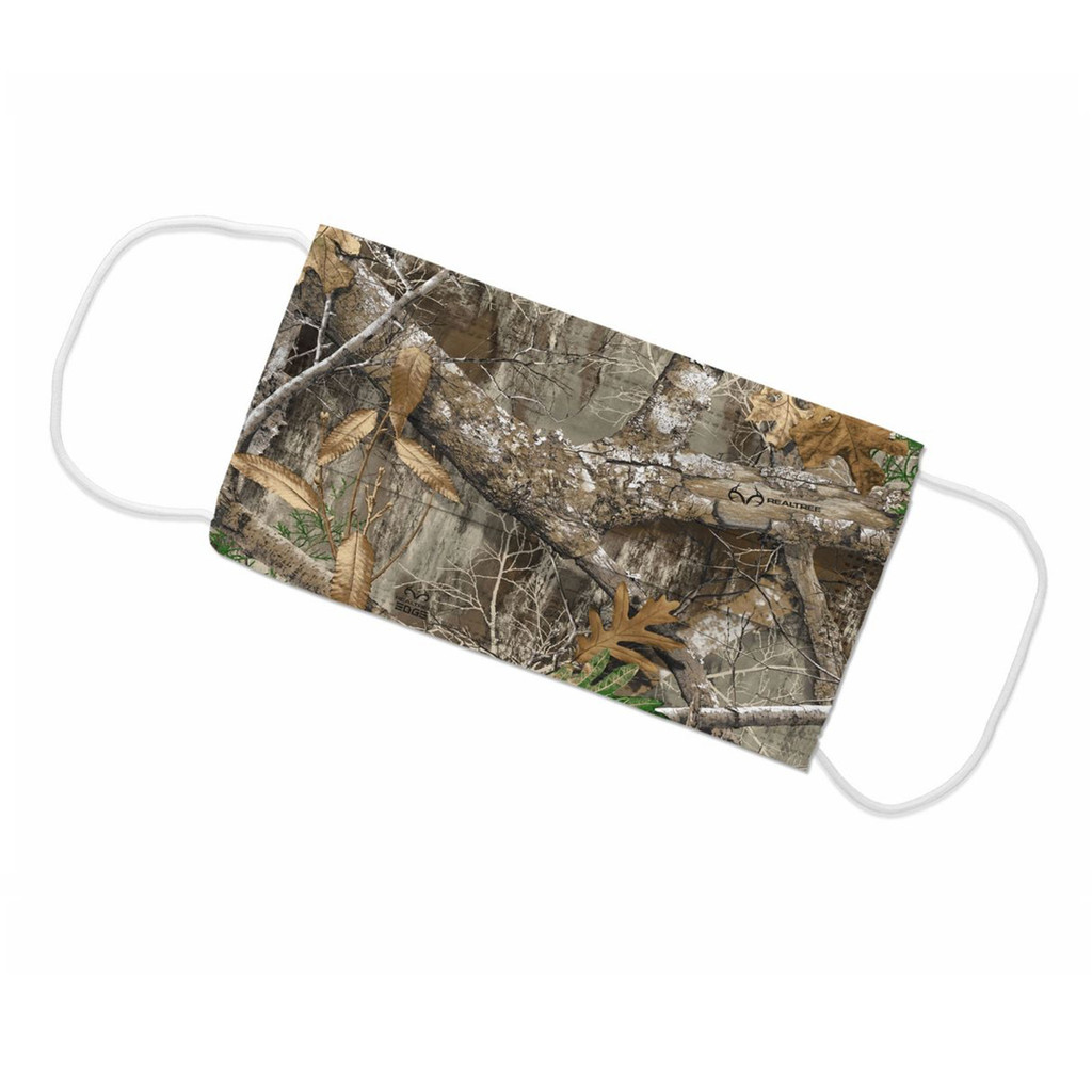 Realtree Edge Face Mask - Flat