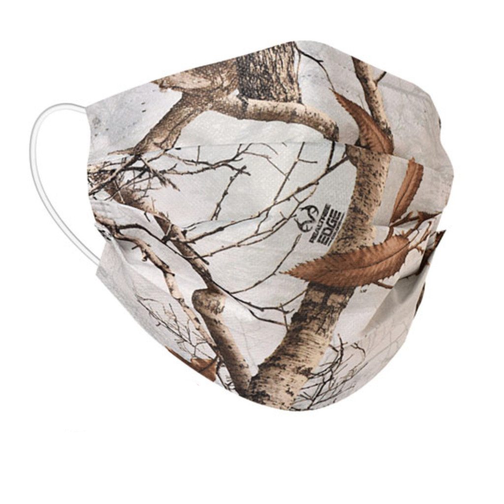 Realtree Edge Snow Face Mask - Front