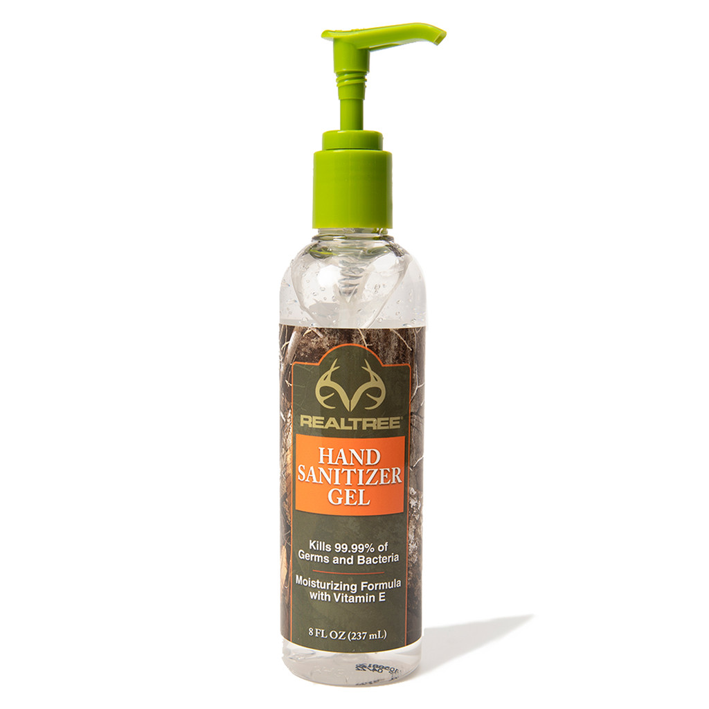 Realtree Hand Sanitizer and FREE Face Mask