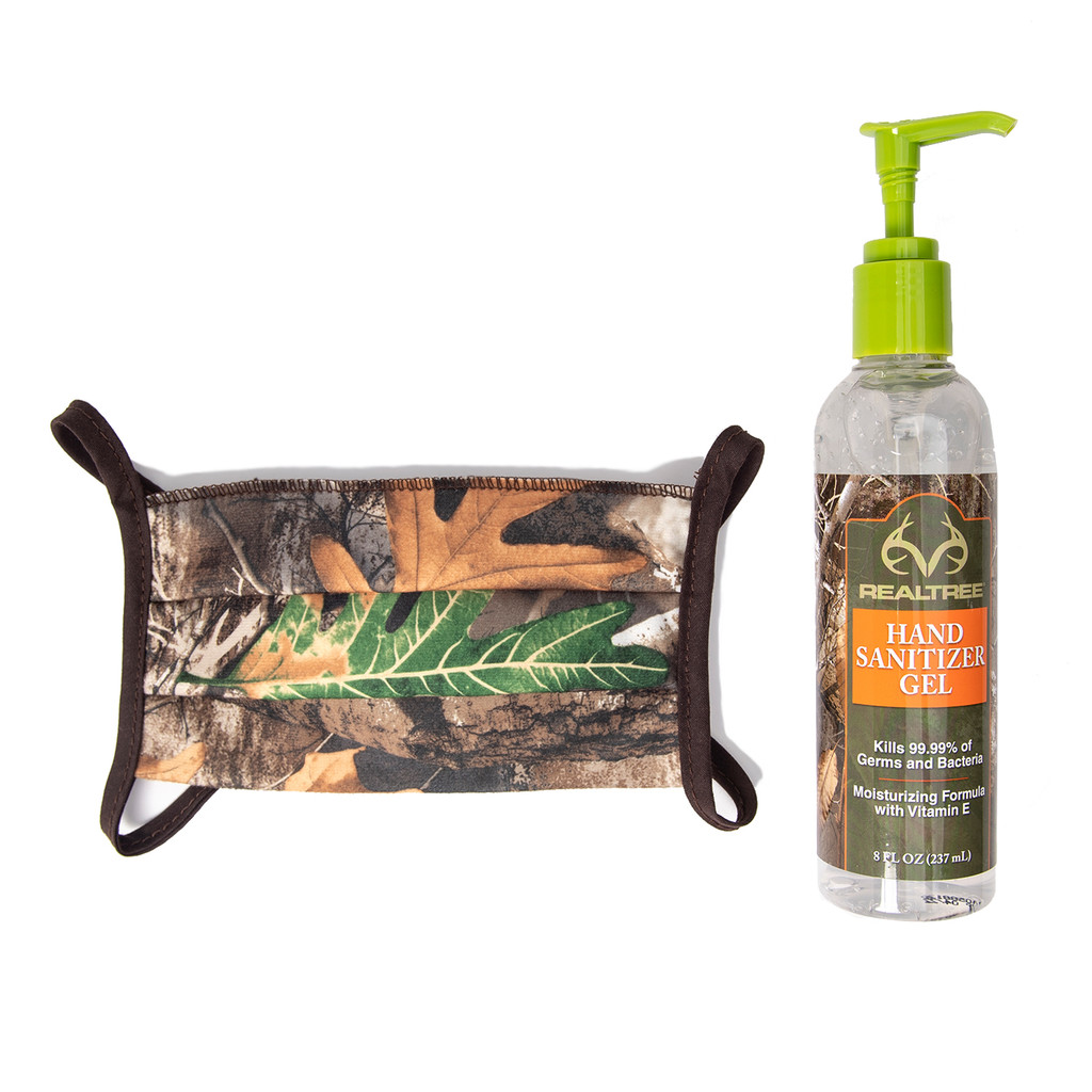 Realtree Hand Sanitizer and FREE Face Mask Image