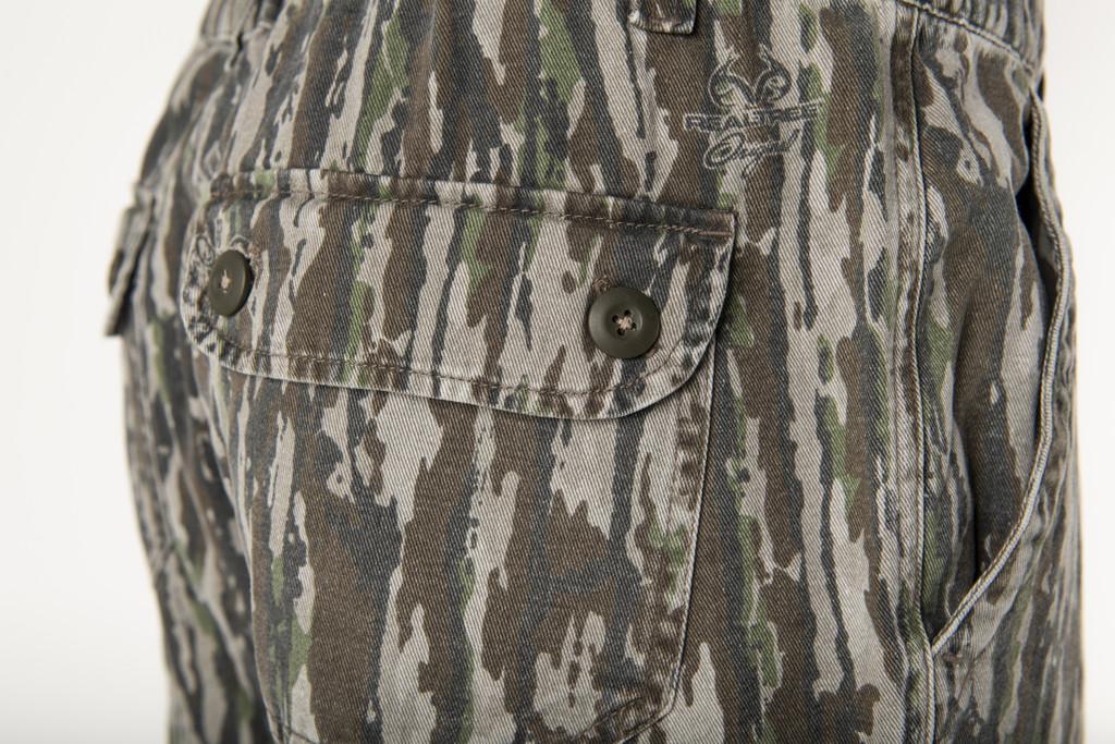 Realtree Original Men's 6 Pocket Cargo Pant Button