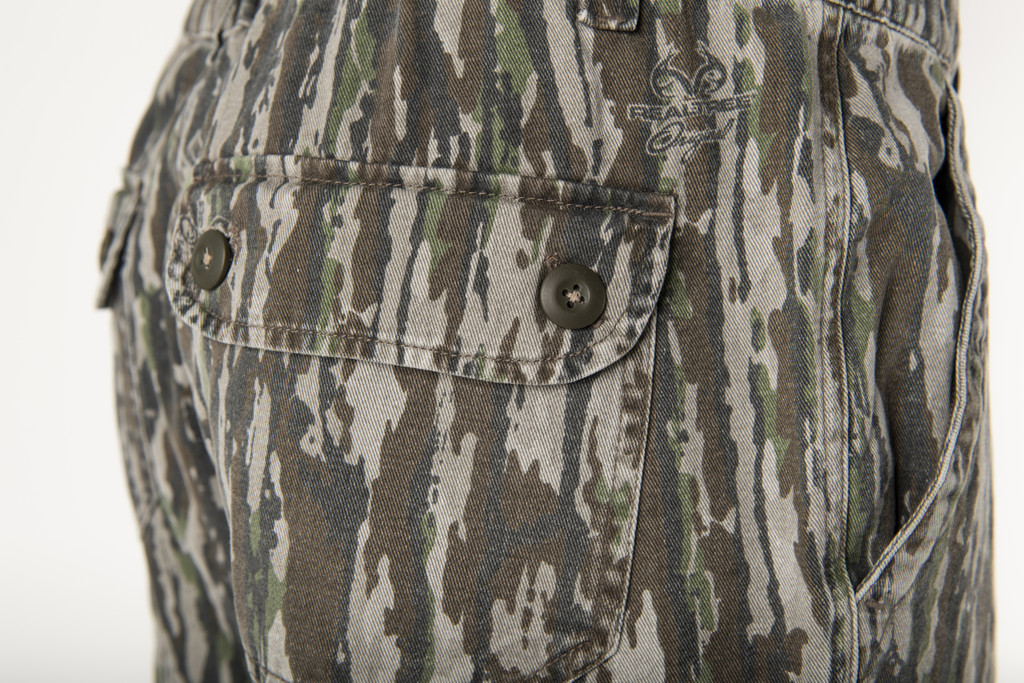 Realtree Original Men's 6 Pocket Cargo Short Button