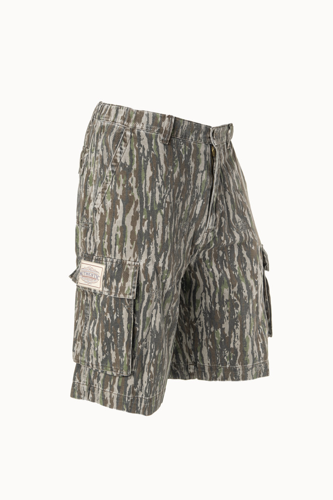 Realtree Original Men's 6 Pocket Cargo Short Side