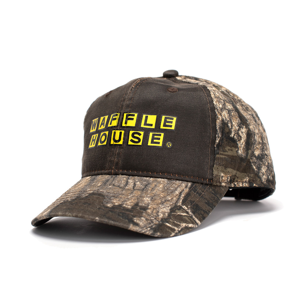 Waffle House Timber Weathered Brown Hat Back