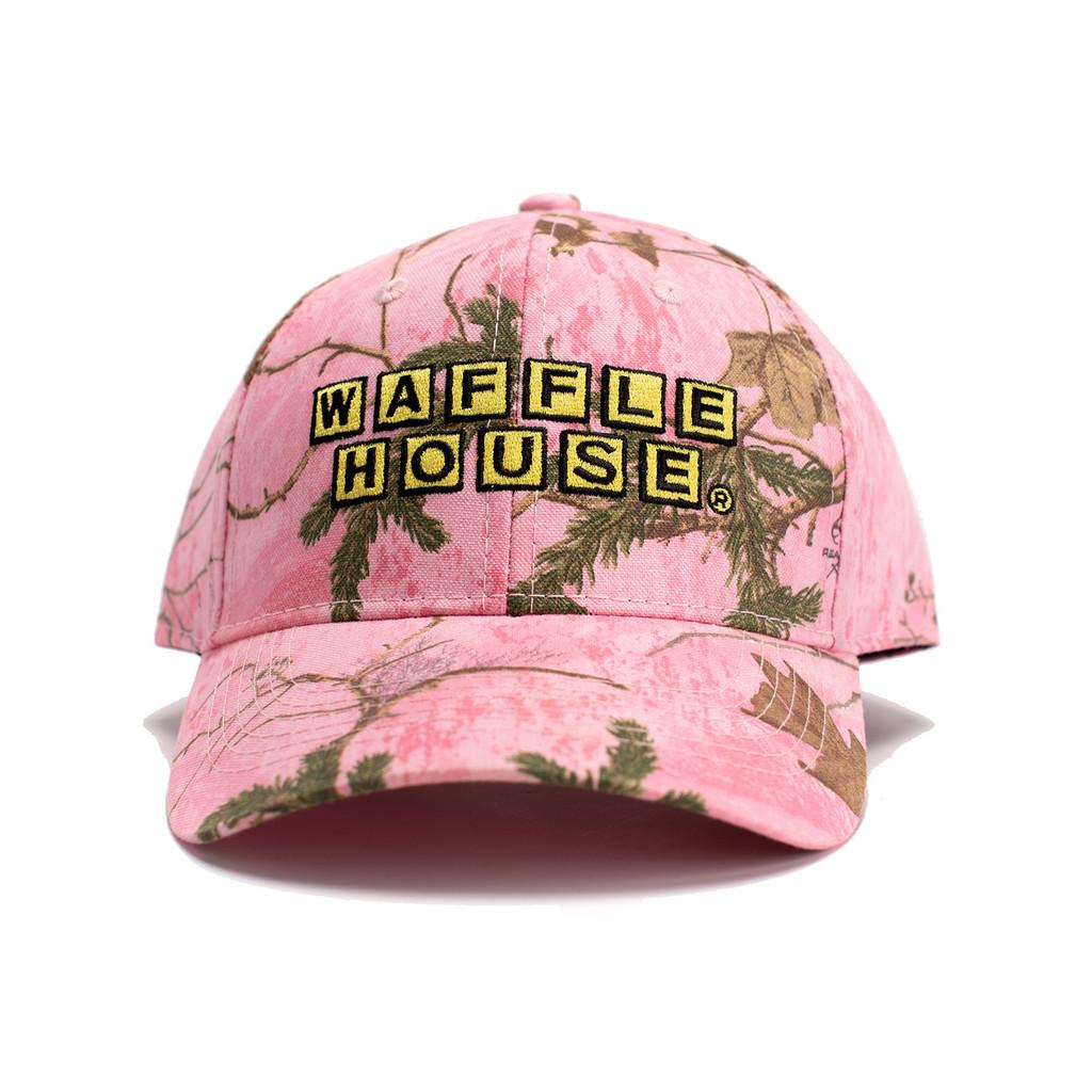 Realtree Xtra Pink Waffle House Hat