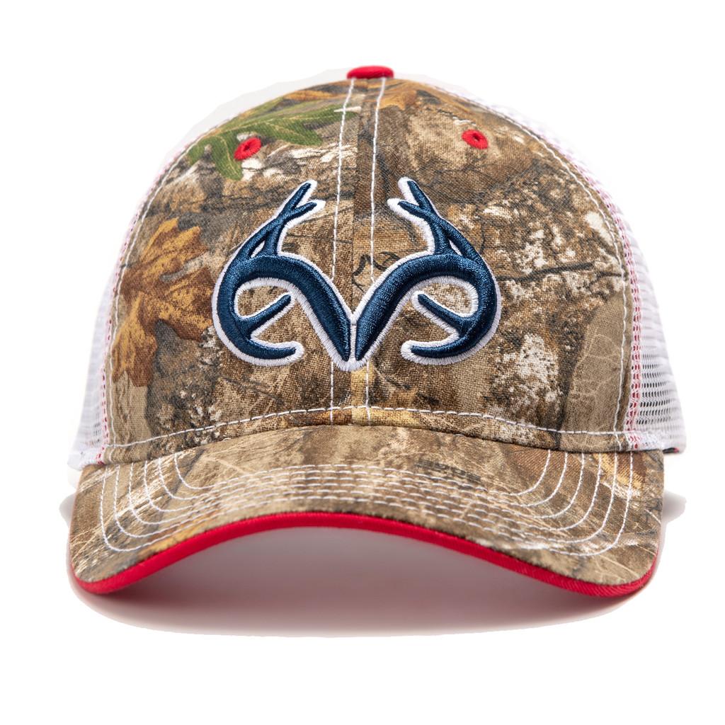 Realtree Edge Patriotic Antler Hat