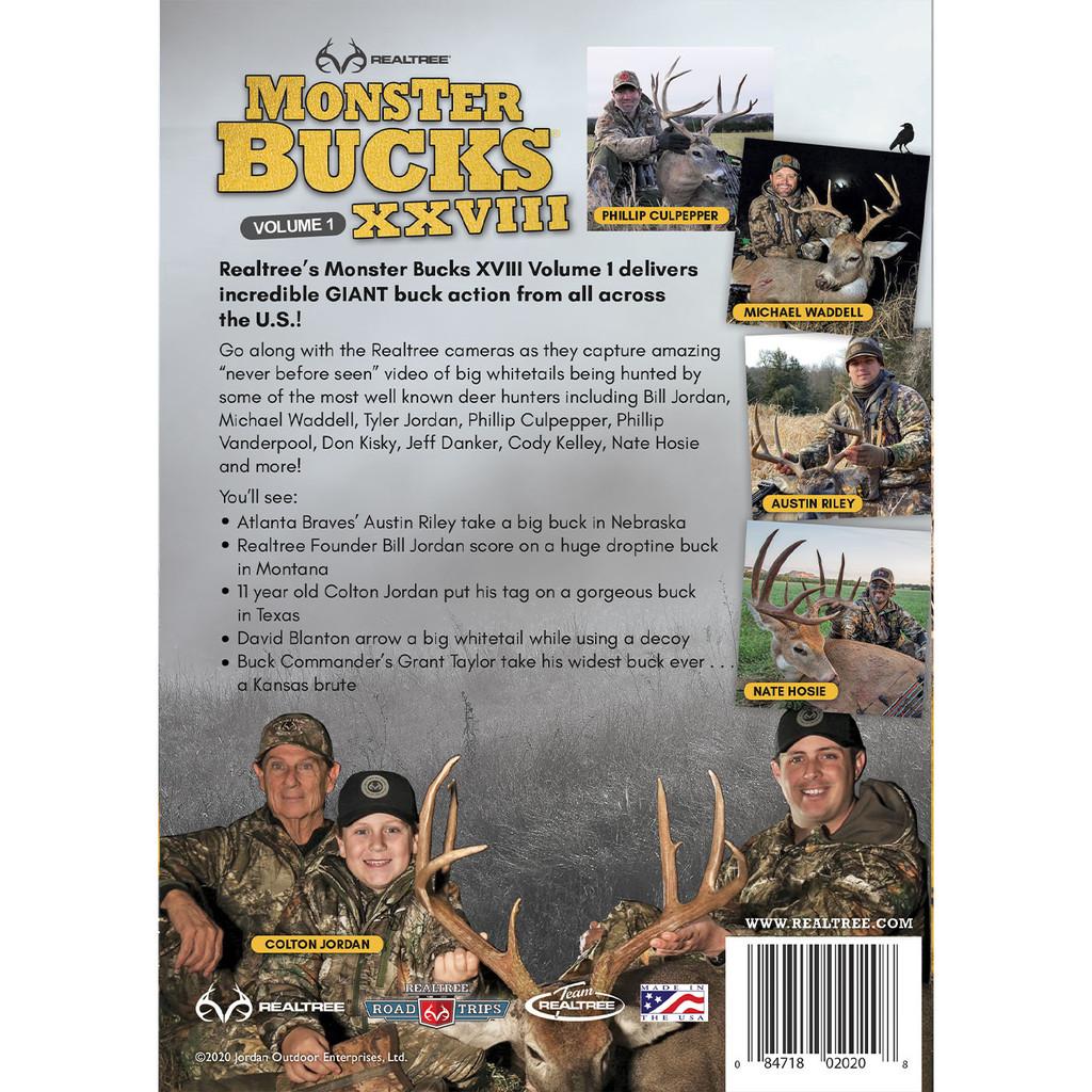 Monster Bucks XXVIII Volume 1 Back