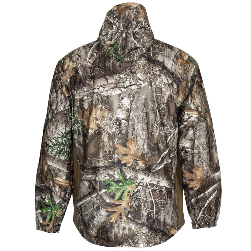 Men's Realtree Edge Waterproof Jacket Back
