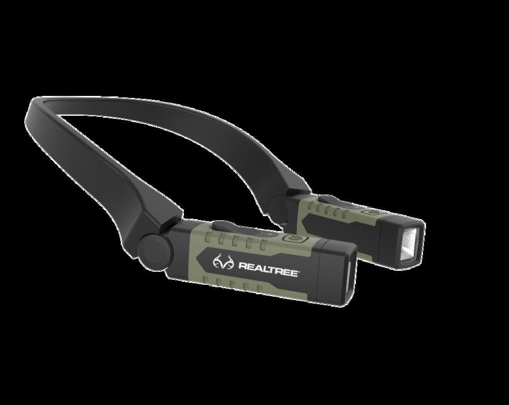 Realtree USB Rechargable LED Neck Light Hand Free Lighting