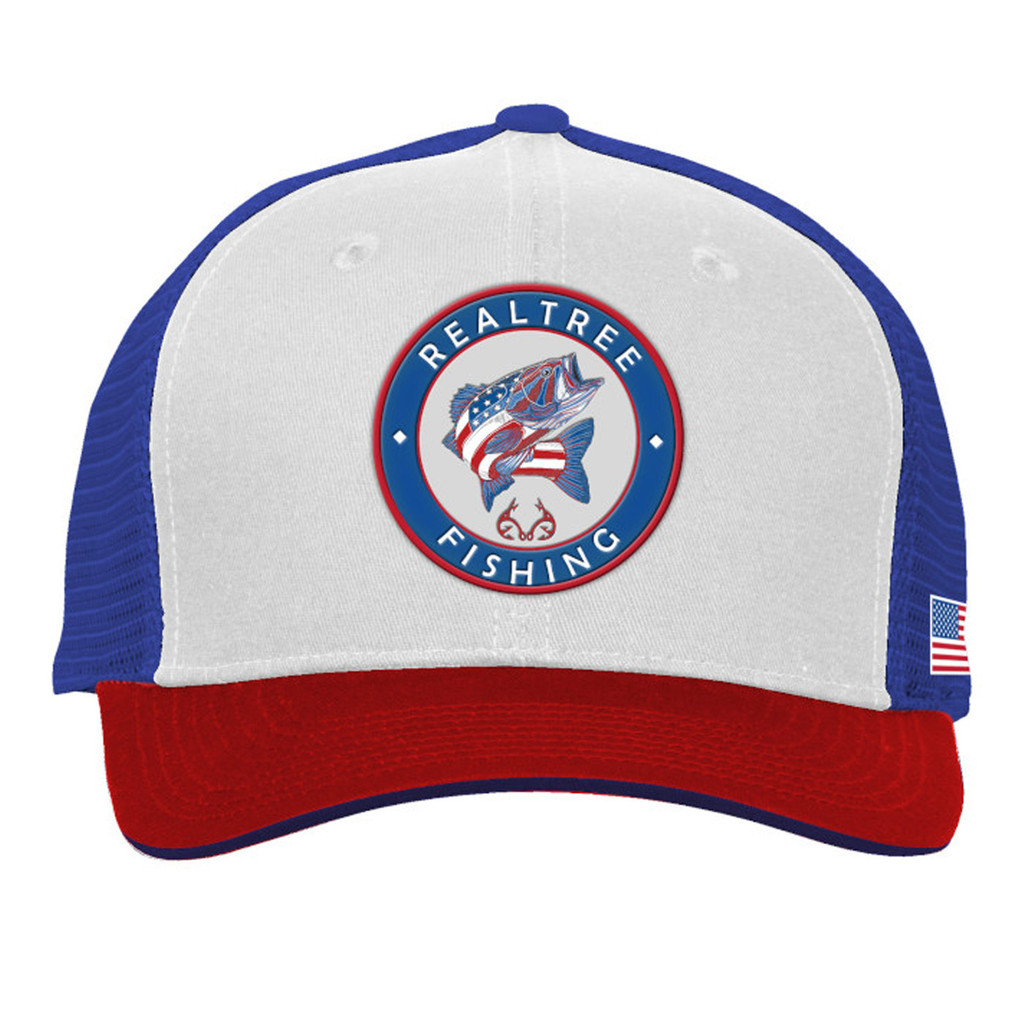 Realtree Fishing Patch AmeriBass Mesh Back Hat