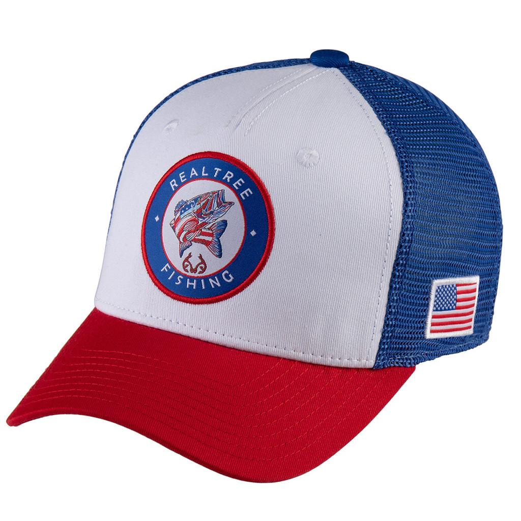 Realtree Fishing Patch AmeriBass Mesh Back Hat Side