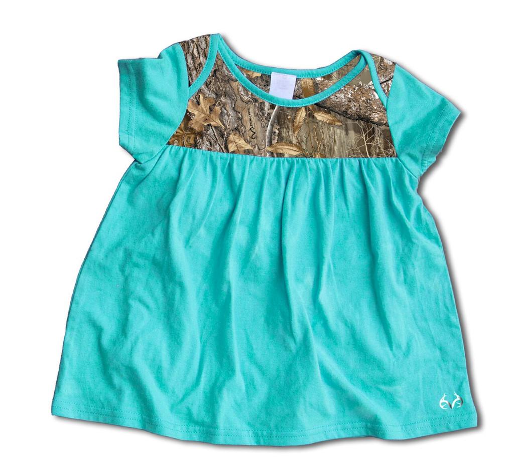 Infant Girl's Camper Onesie Dress