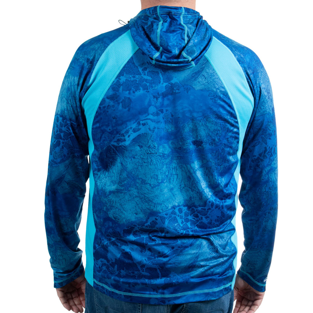 Men's Coppermine Cove Hooded Performance Layer with Gaiter Back