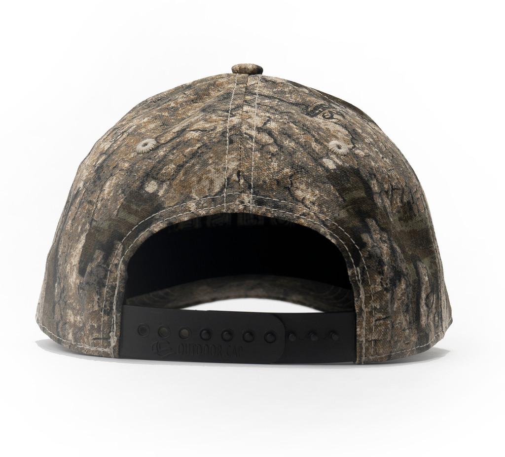 Waffle House Timber Camo Adjustable Snap Back Cap