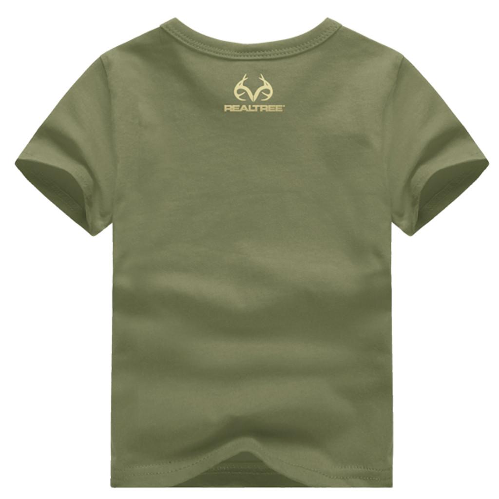 Boy's Hunting Buddy Short Sleeve Shirt Back