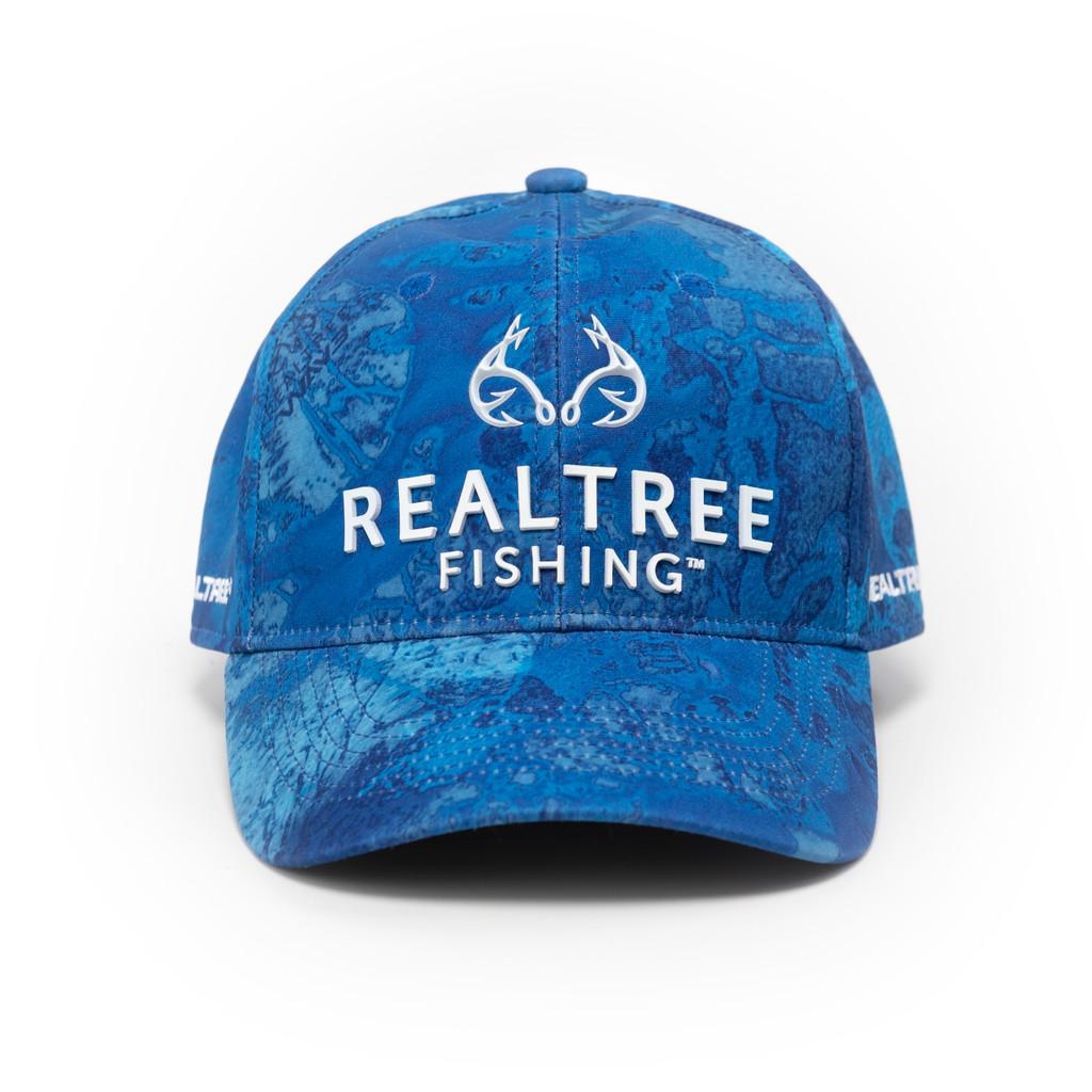 Realtree Wav3 Blue Performance Hat
