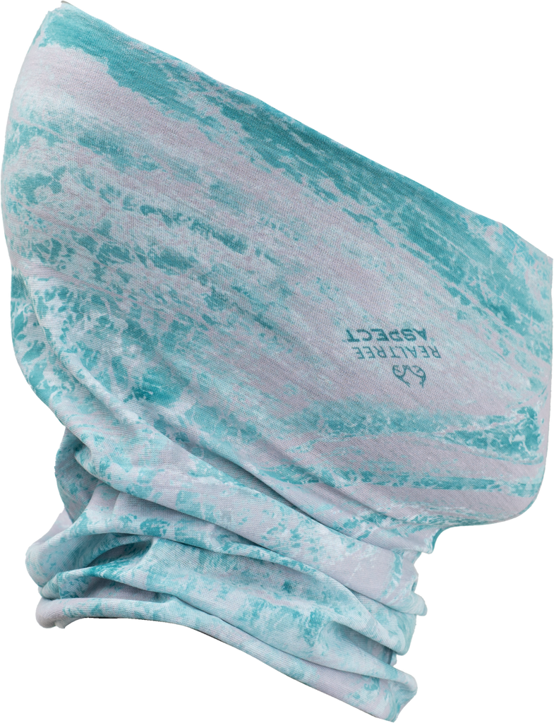 Realtree Aspect Blue  Waters Fishing Neck Gaiter