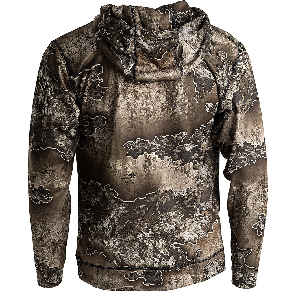 Realtree Camo Pro Staff Performance Hoodie Excape Back