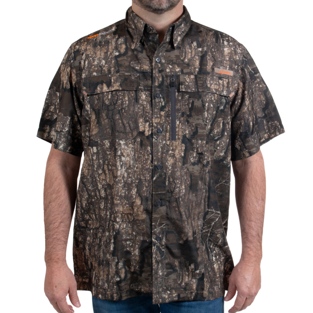 Men's Realtree Timber Short Sleeve Guide Shirt