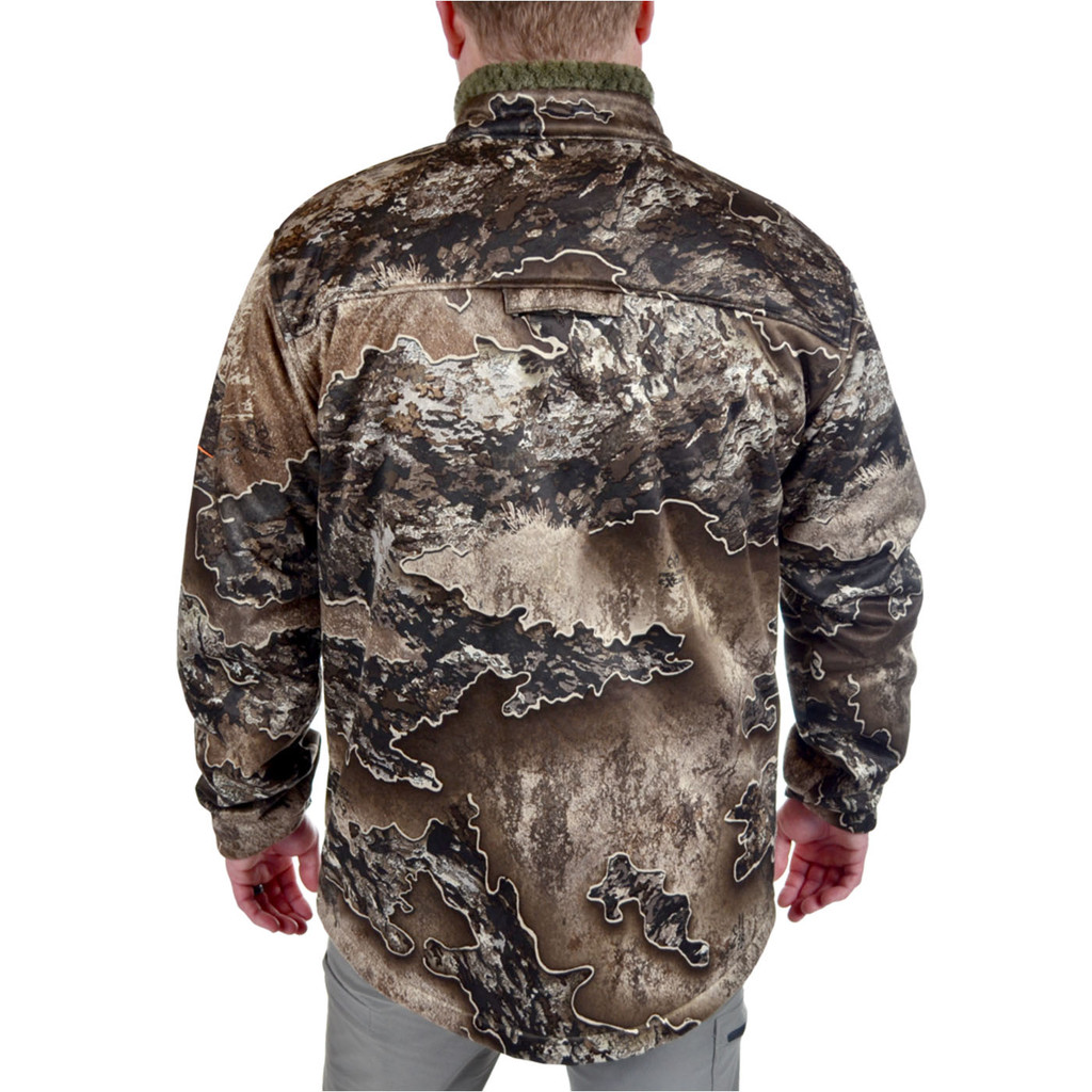 Men's Excape Early Dawn Sherpa Shell Jacket Back