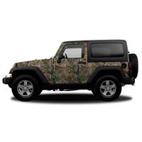 Realtree Camo Jeep/SUV Vehicle Wrap Xtra Green