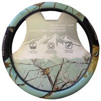 Realtree Mint 2-Grip Steering Wheel Cover in Package