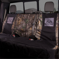 Realtree Xtra Switch Back Bench Seat Cover in use
