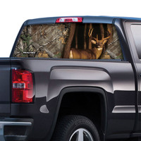 Realtree Xtra Whitetail Deer Window Film