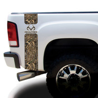Realtree Antler Logo Camo Bed Bands in Max-5