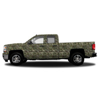 Realtree Standard Size Vehicle Wrap shown in Realtree Max-1