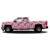 Realtree Standard Size Vehicle Wrap shown in Realtree Xtra Pink