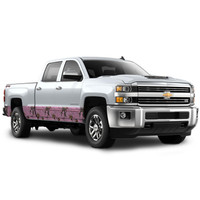 """Camo Accent Vehicle Wrap (12"""" X 28') in Xtra Pink"""