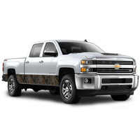 """Camo Accent Vehicle Wrap (12"""" X 28') in Xtra"""