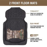 Realtree Outfitters Xtra Floor Mats Information