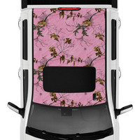 Realtree Camo Accent Premium Roof Kit Xtra Pink