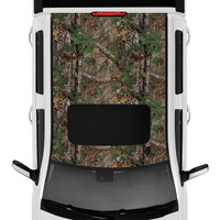 Realtree Camo Accent Premium Roof Kit Xtra Green