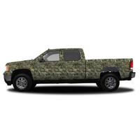 Realtree Camo Deluxe Size Vehicle Wrap Max-1