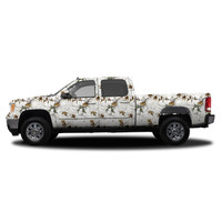 Realtree Camo Deluxe Size Vehicle Wrap Xtra Snow