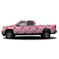 Realtree Camo Deluxe Size Vehicle Wrap Xtra Pink