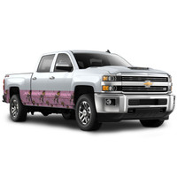 """Camo Accent Vehicle Wrap (16"""" X 28') Xtra Pink"""