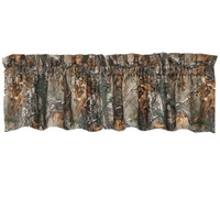 Realtree Camo Window Valance in Xtra