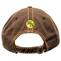 Waffle House Top Stitch Brown Cap Back