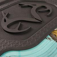 Realtree Mint Camo Front Floor Mats Detail
