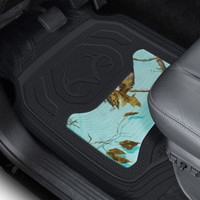 Realtree Mint Camo Front Floor Mats in Truck