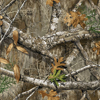 Realtree Camo Large Perforated Window Film Edge