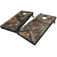 Realtree Full Camo Cornhole Boards in Xtra