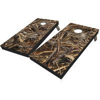 Realtree Full Camo Cornhole Boards in Max-5