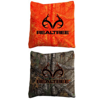 Realtree Corn Hole Xtra Orange and Xtra Bags