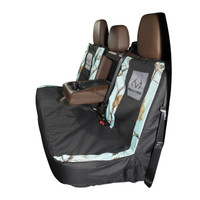 Realtree Mint Camo Switch Back Bench Seat Cover  in Use