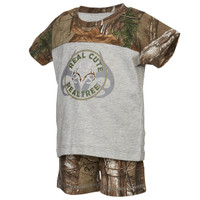 Realtree Xtra Camo Boy's Infant Tee and Short Set